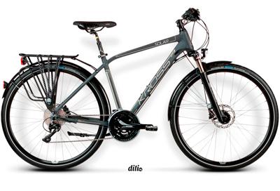 Обзор велосипедов Kross 2015 класса Комфорт