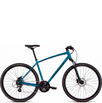 Велосипед Specialized Crosstrail Hydraulic Disc (2018) Teal Tint/Black