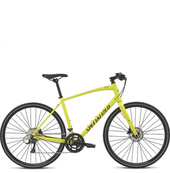 Велосипед Specialized Sirrus Sport Disc (2018) Limon/Black