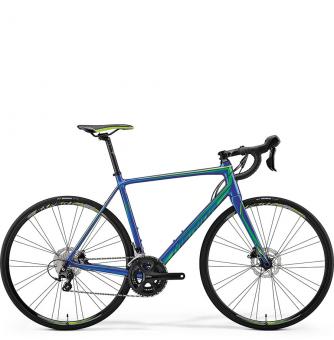 Велосипед Merida Scultura Disc 400 blue (2018)