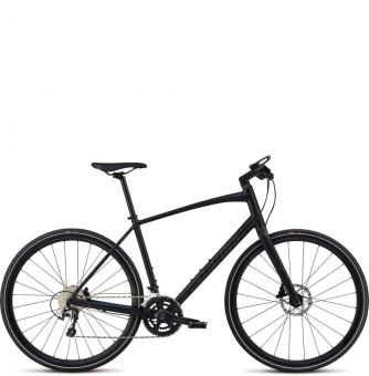 Велосипед Specialized Sirrus Elite Alloy (2018) Black/Purple Chameleon