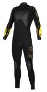 Гидрокостюм мужской Mystic 2011 Crossfire 5/3 D/L Len10 Steamer Black/Yellow