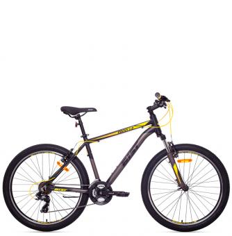 Велосипед Aist Rocky 1.0 (2018) Black Yellow