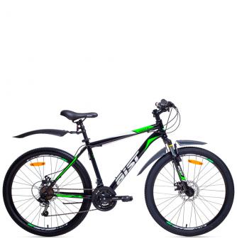 Велосипед Aist Qust Disk (2018) Black Green