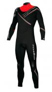 Гидрокостюм мужской Mystic 2011 Empire 5/3 D/L Steamer Black/Red