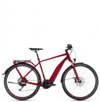 Велосипед Cube Touring Hybrid EXC 500 (2018) darkred´n´red