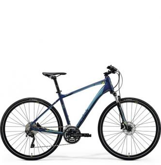Велосипед Merida Crossway 500 (2018) petrol blue