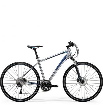Велосипед Merida Crossway 500 (2018) matt dark silver