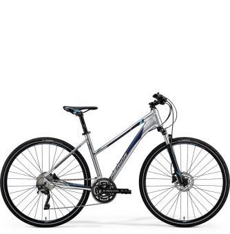 Велосипед Merida Crossway Lady 500 (2018) matt dark silver