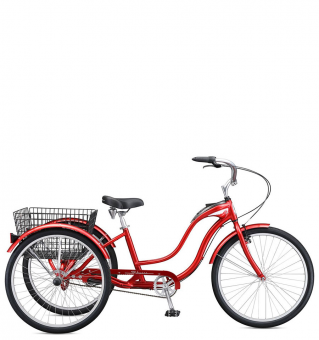 Велосипед Schwinn Town & Country red (2018)