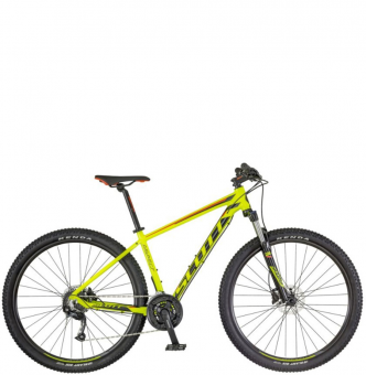 Велосипед Scott Aspect 750 yellow/red (2018)
