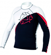 Гидромайка мужская Mystic 2011 Arrow Rashvest L/S Black/Red