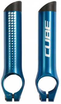 Рога на руль Cube Bar Ends HPA blue 11591