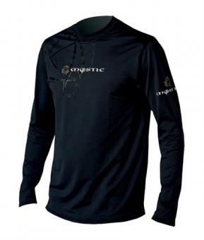 Гидромайка мужская Mystic 2011 Force Quick Dry Shirt L/S Black