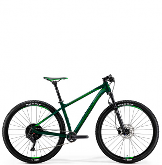 Велосипед Merida Big.Nine 600 (2019) SilkDarkGreen/NeonGreen