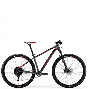 Велосипед Merida Big.Nine 600 (2019) MattDarkSilver/Black/Red