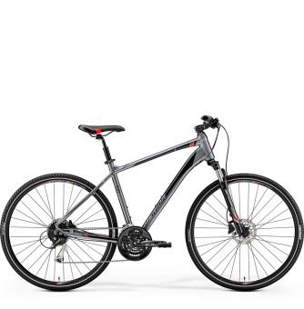 Велосипед Merida Crossway 100 (2019) SilkTitan/Red