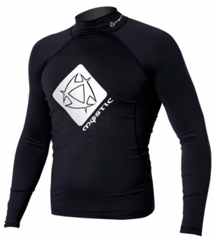 Гидромайка мужская Mystic 2012 Star Rash Vest Men L/S Black