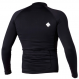 Гидромайка мужская Mystic 2012 Star Rash Vest Men L/S Black 1