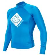 Гидромайка мужская Mystic 2012 Star Rash Vest Men L/S Blue