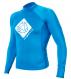 Гидромайка мужская Mystic 2012 Star Rash Vest Men L/S Blue 1