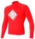 Гидромайка мужская Mystic 2012 Star Rash Vest Men L/S Red 1