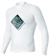 Гидромайка мужская Mystic 2012 Star Rash Vest Men L/S White 1