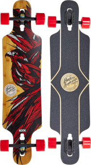 Лонгборд Mindless Falcon II x Kook Talisman red