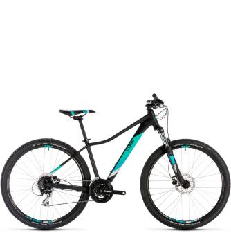 Велосипед Cube Access WS EAZ 27,5 (2019) black´n´aqua
