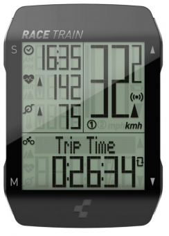 Велокомпьютер беспроводной Cube Race Traine 14028
