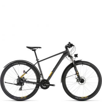 Велосипед Cube Aim Allroad 29 (2019) iridium´n´mango