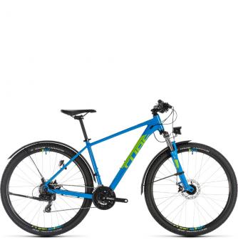 Велосипед Cube Aim Allroad 29 (2019) blue´n´green