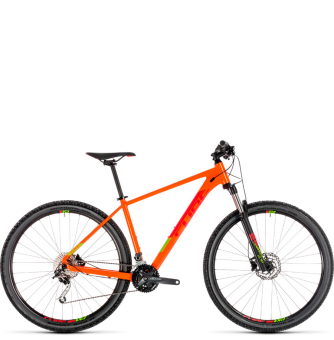 Велосипед Cube Analog 29 (2019) orange´n´red