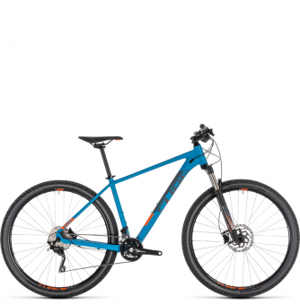 Велосипед Cube Attention SL 27.5 (2019) blue´n´orange