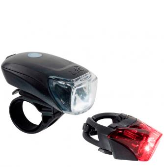 Комплект фонарей Cube RFR Lighting Set TOUR 35 USB black