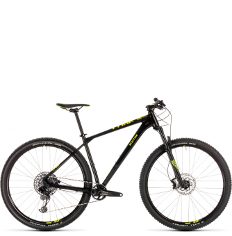 Велосипед Cube Reaction Race 27,5 (2019) black´n´flashyellow
