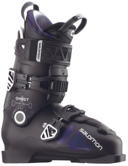 Горнолыжные ботинки Salomon Gost FS 100 black/darkpurpl (2018)