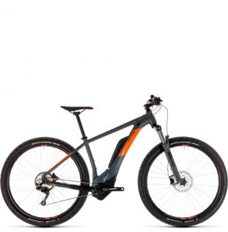 Электровелосипед Cube Reaction Hybrid Pro 400 29 (2019) grey´n´orange