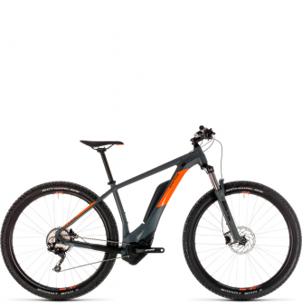 Электровелосипед Cube Reaction Hybrid Pro 500 29 (2019) grey´n´orange