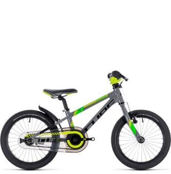Детский велосипед Cube Kid 160 (2019) grey´n´green´n´kiwi