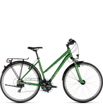 Велосипед Cube Touring Trapeze (2019) green´n´silver