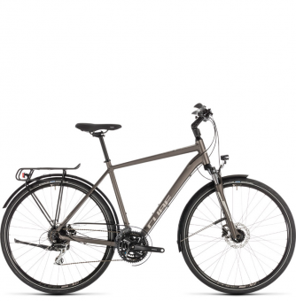 Велосипед Cube Touring Pro (2019) brown´n´silver