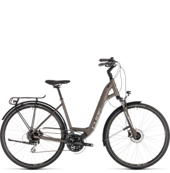 Велосипед Cube Touring Pro Easy Entry (2019) brown´n´silver