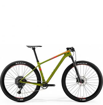 Велосипед MERIDA Big.Nine 6000 (2019) MattOlive/Red
