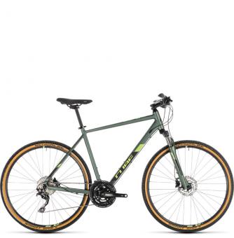 Велосипед Cube Nature EXC (2019) green´n´black