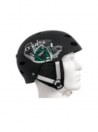 Шлем Mystic Crown Helmet with Earpads Black/Green