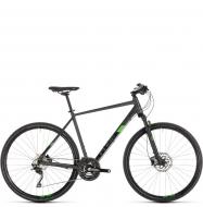 Велосипед Cube Cross Pro (2019) iridium´n´green