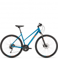 Велосипед Cube Cross Pro Trapeze (2019) blue´n´orange