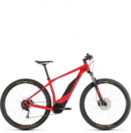 Электровелосипед Cube Acid Hybrid One 400 (2019) red´n´green