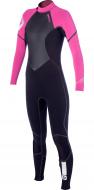 Гидрокостюм женский Mystic Diva 5/4 D/L Fullsuit Black/Pink